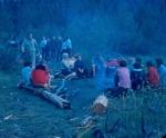 1962 Camp Desautel Camp Fire