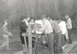 1962 Camp Desautel Washing Up
