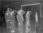 1961 Cub Scouts in Emert Gym