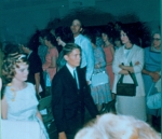 1965 9th Grade Graduation Sally and Barry