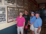 Tour of School - Barb, Larry, Sharman, Glen