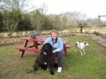 Barb & Sophie (& BlueBoy) - March 2010